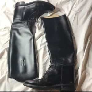 Genuine leather Equestrian boots